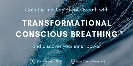 Transformational Conscious Breathing (C) – Weekly Class to Recharge and Rebalance in the City tickets
