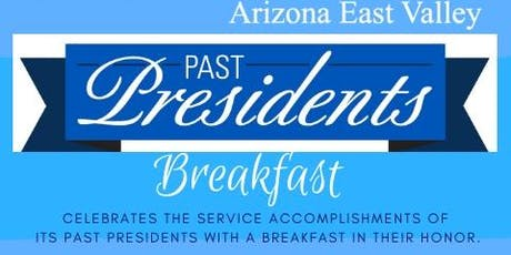 Past Presidents Breakfast tickets