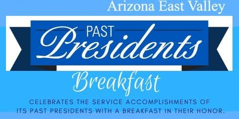Past Presidents Breakfast