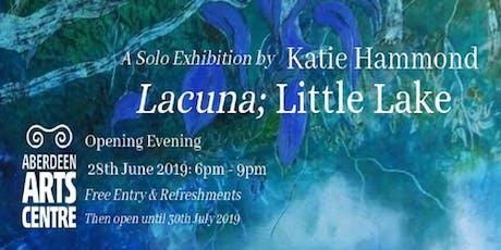 'Lacuna; Little Lake' Exhibition by Katie Hammond tickets