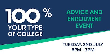 South Tyneside College Advice and Enrolment Event tickets