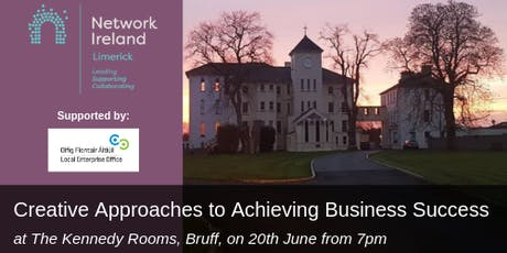 Network Ireland Limerick - Creative Approaches to Achieving Business Success  tickets