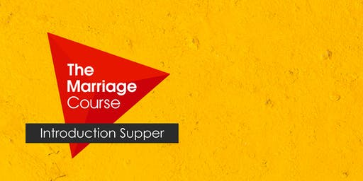 The Marriage Course Introduction Supper