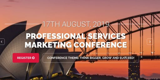 Professional Services Marketing Conference
