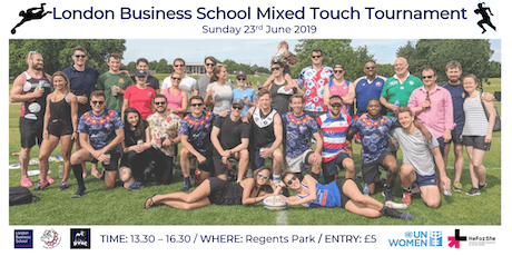 London Business School Charity Mixed Touch Rugby Tournament tickets