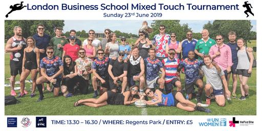 London Business School Charity Mixed Touch Rugby Tournament