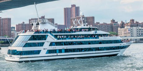 NYC #1 Dance Music Boat Party BRUNCH Yacht Cruise French Independence tickets