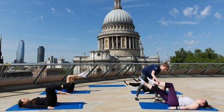 Summer Series: Rooftop Pilates at One New Change tickets