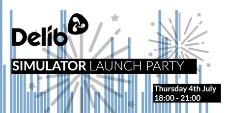 Delib's Simulator Launch Party tickets