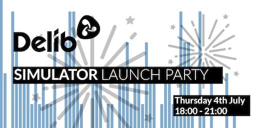 Delib's Simulator Launch Party