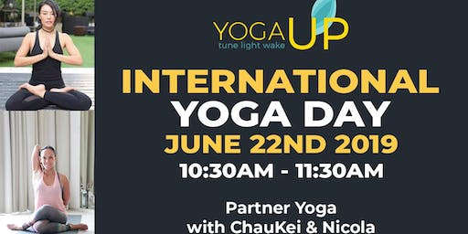 YOGAUP International Yoga Day 2019 | JUNE 22