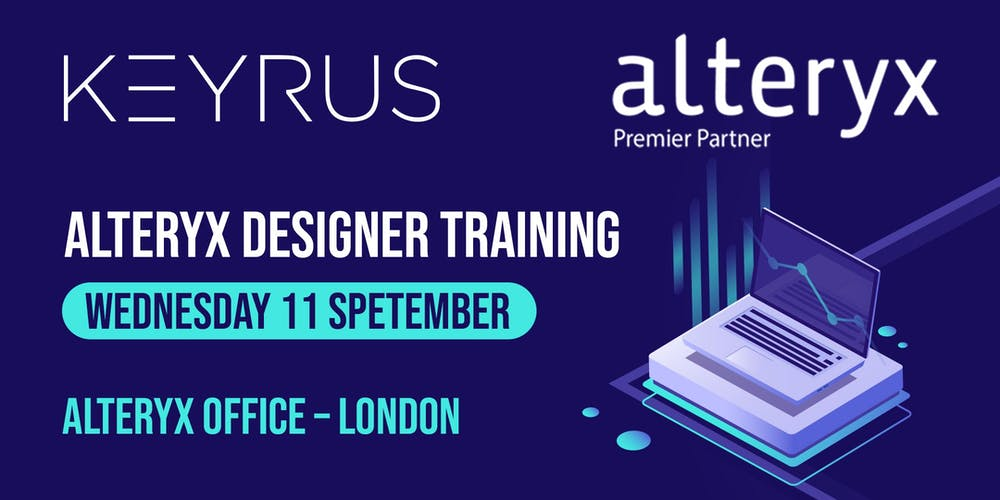 Alteryx Beginner Training - 11th Sept 2019 Tickets, Wed 11
