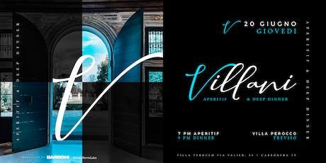 VILLANI Villa Perocco di Meduna - Treviso biglietti