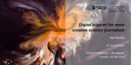 Digital support for more creative science journalism tickets