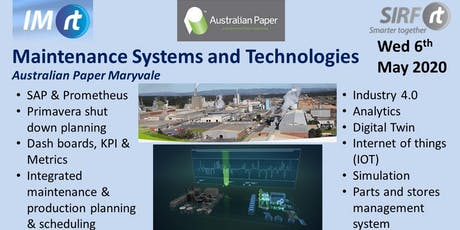 VICTAS Maintenance Systems and Tech - Australian Paper Maryvale tickets