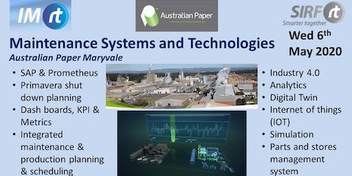 VICTAS Maintenance Systems and Tech - Australian Paper Maryvale