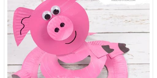 Kid's Piggy Twirler Craft Day!