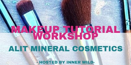 MAKEUP TUTORIAL WORKSHOP- ALIT MINERAL COSMETICS tickets