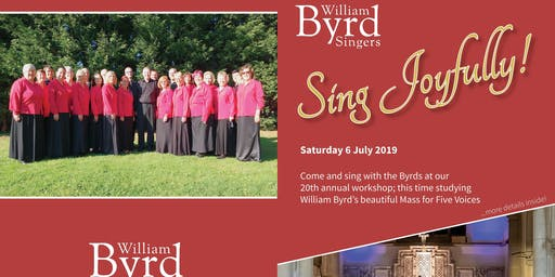 Sing Joyfully! Come and sing Byrd with The Byrds