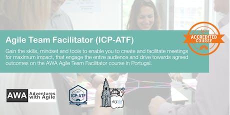 ICAgile Certified Agile Team Facilitator (ICP-ATF) | Portugal - August bilhetes