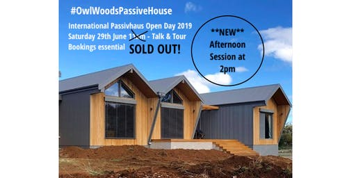 International Passivhaus Open Day #OwlWoodsPassiveHouse - afternoon session