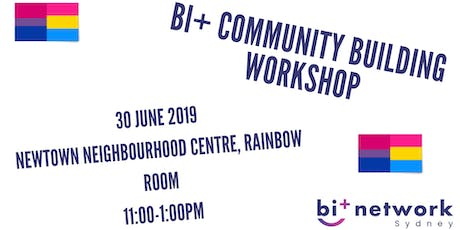 Community Building Workshop - Sydney Bi+ Network tickets