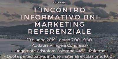 1° Incontro Informativo BNI sul Marketing Referenziale a Palermo