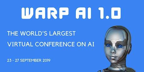 WARP AI 1.0 - Virtual Conference billets
