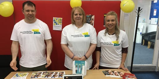 Host a stand - HMRC Wellbeing Day- East Kilbride - EVT14766