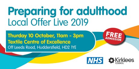 Preparing for Adulthood Local Offer Live 2019 - Public Event tickets