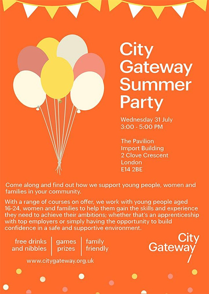 City Gateway Summer Party image