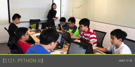 Coding for Teens - S121: Python 3 Course (Ages 13-18) @ Upp Bukit Timah tickets