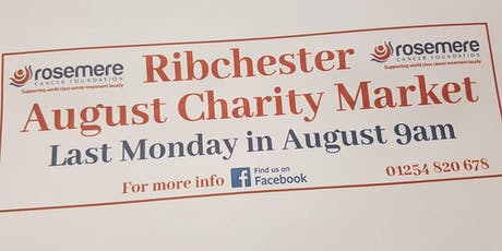 Ribchester August charity market tickets