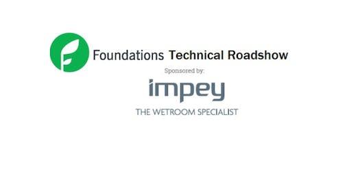 Foundations Technical roadshow theatre plus OTAC Southampton Entry
