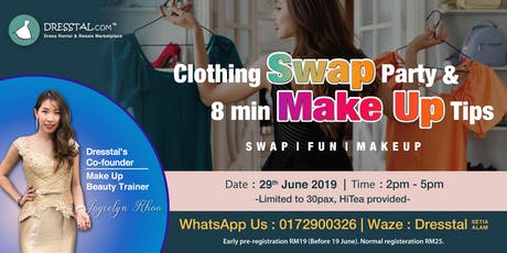 Clothing Swap Party & 8min Make Up Tips tickets