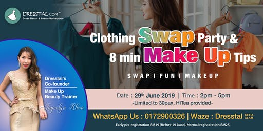 Clothing Swap Party & 8min Make Up Tips
