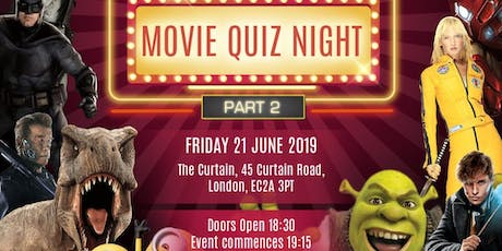 UFP FILM CLUB MOVIE QUIZ NIGHT PART II tickets