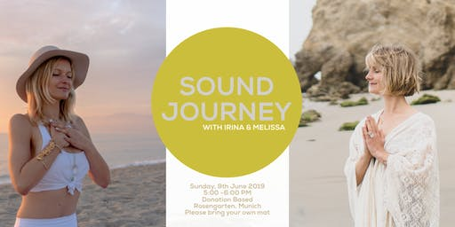 Sound Journey Munich with Irina & Melissa