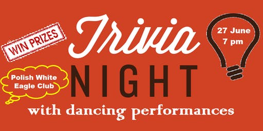 Fundraising Trivia and Dance Performance Night