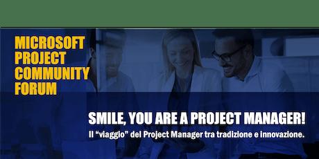 Microsoft Project Community Forum biglietti
