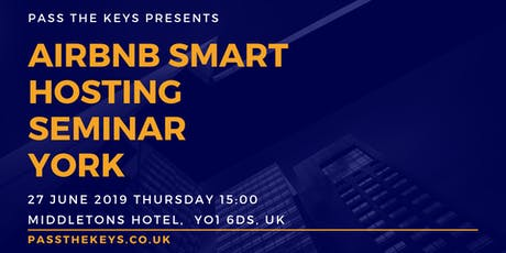 Airbnb Smart Hosting Seminar - York  tickets