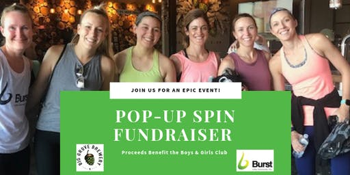 Burst Pop-Up Spin at Big Grove Brewery