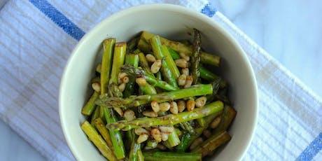 Cooking Class: Italian Summer Vegetable Dishes (Cucinato Studio)  tickets