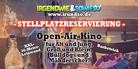 Open-Air-Kino für Bulldog's und Mähdrescher - Stellplatzbuchung Tickets