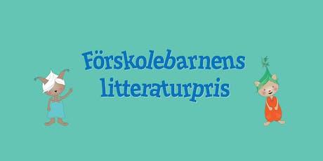 Förskolebarnens litteraturpris tickets