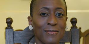 Patience Agbabi at Southwell Library. Part of Inspire...