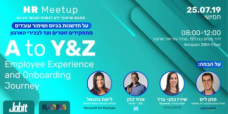HR MeetUp | Employee Experience & Onboarding Journey - A to Y&Z tickets