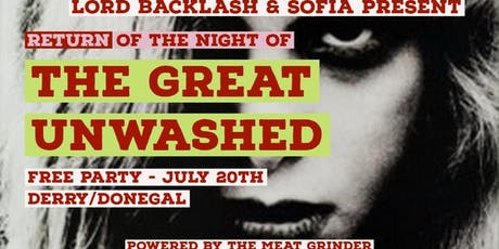 Lord Backlash & Sofiā Presents: Return Of The Night Of The Great Unwashed tickets
