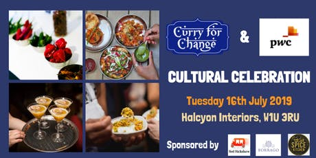 PwC's Curry for Change Cultural Celebration  tickets