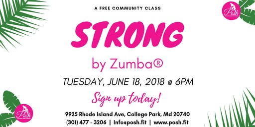 FREE Community Class | STRONG